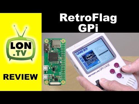 Retroflag GPi Gameboy Case for Raspberry Pi Zero and W Review