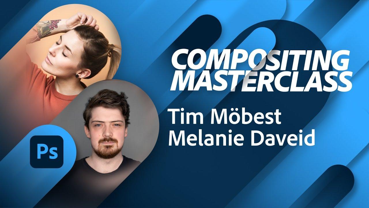 Compositing: Photoshop auf dem iPad mit Tim Möbest und Melanie Daveid |Adobe Live