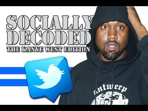 ab3dd78083ff Kanye West Tweets Decoded By Twitter Trolls - YouTube