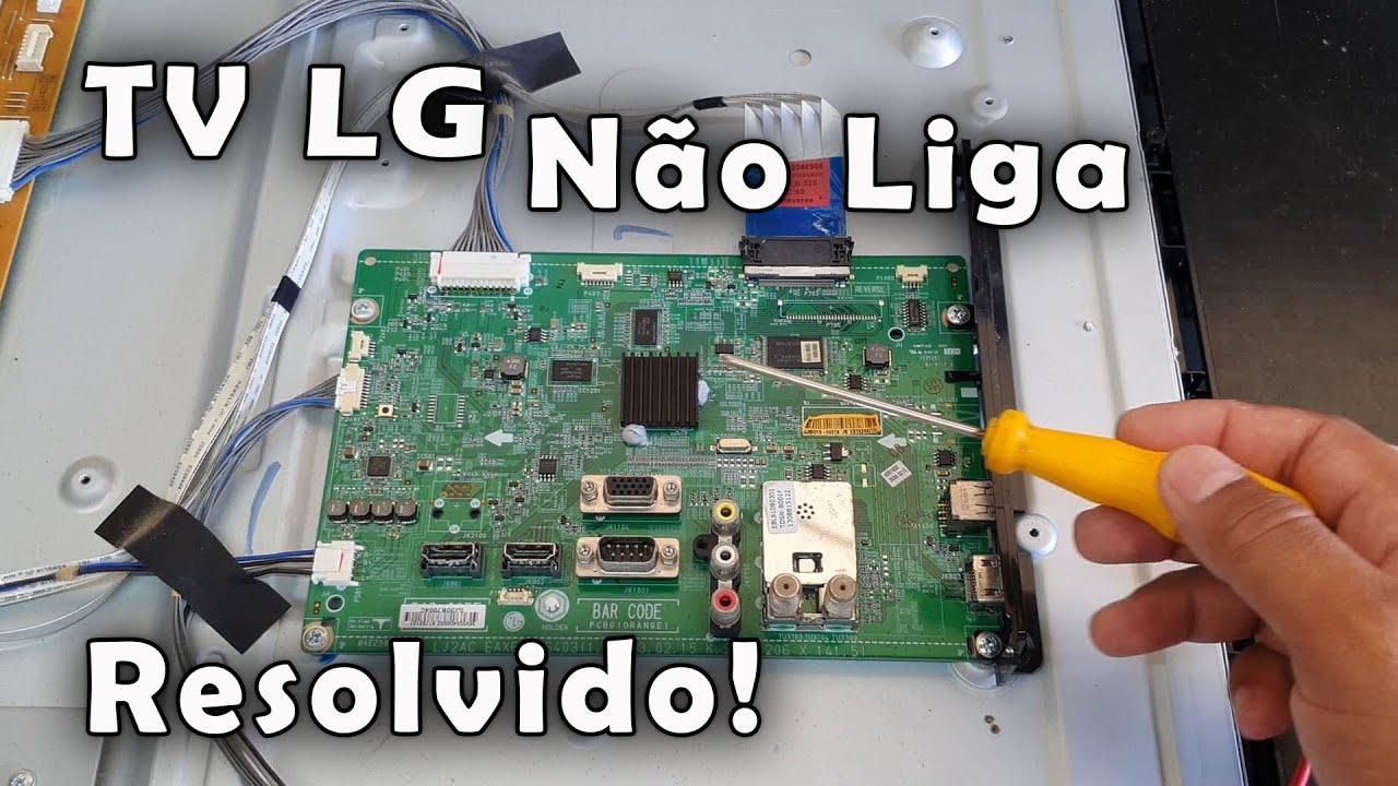 Download TV LG Não Liga RESOLVIDO!