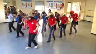 Cherokee boogie Line dance