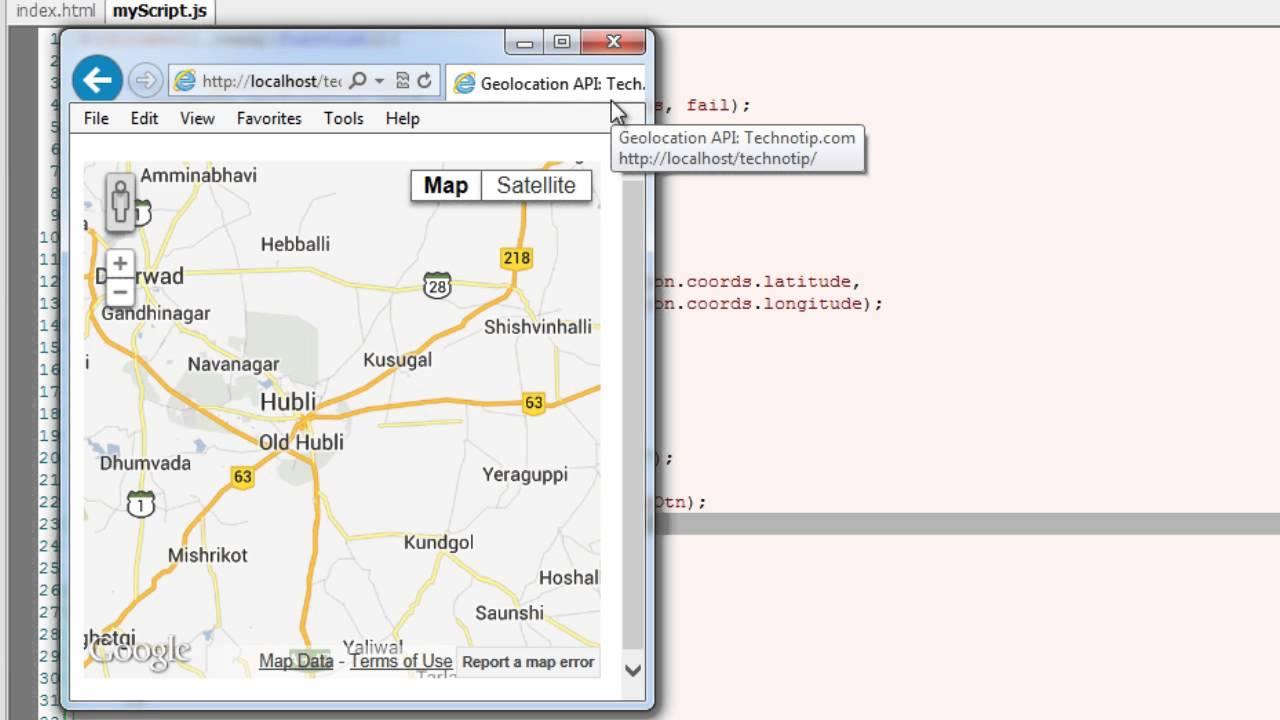 Adding Pin/Marker To Google Map: HTML5
