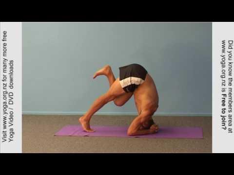 Head Stand -Headstand yoga posture