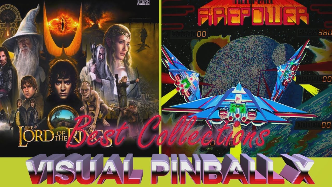 VISUAL PINBALL 10 Collection Vol  19(Part 1) | The Lord of