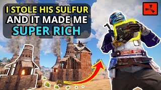Gambar cover I STOLE ALL His SULFUR (Exposed Furnaces), Then He GAVE ME SO MUCH LOOT!! - RUST SOLO
