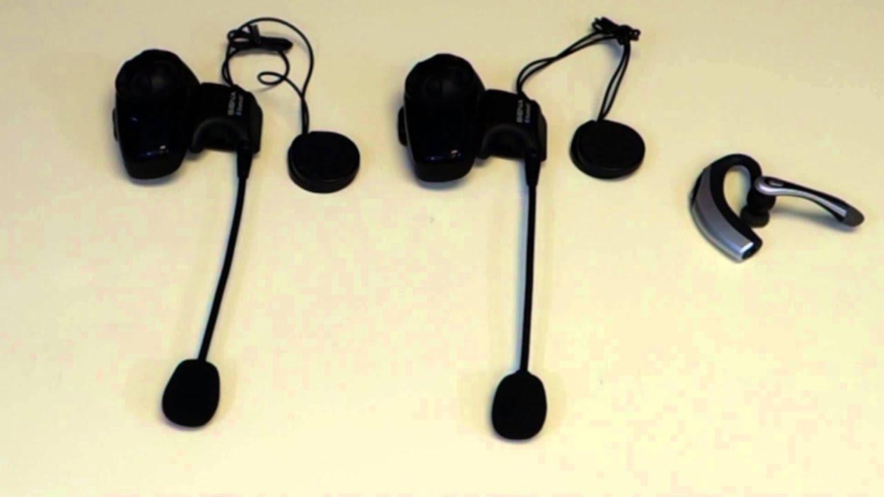 Sena Bluetooth Universal Intercom Guide (3-Way Intercom - Two Sena ...
