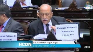 Miguel Giubergia sobre Comisión Bicameral para investigar cuentas en Suiza