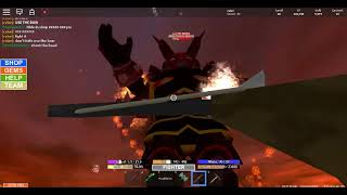 roblox fob (field of battle) fight THE DEMON