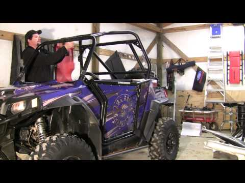 RacerTechs Stock replacement cage for the RZR!