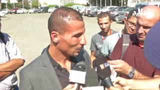 شاهد ماذا قال مخولفي خلال حضوره لاستقبال الوفد الجزائري المشارك في أولومبياد ذوي الاحتياجات الخاصة