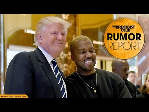 Kanye West Displays His Love For Donald Trump