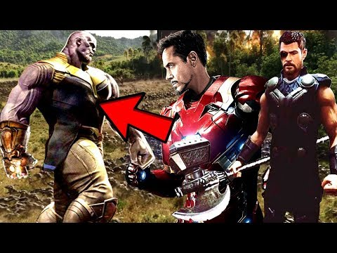 Avengers Infinity War Thanos & The Infinity Sword In The Final Battle? How Does It Set Up Avengers 4