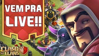FARM MAROTO E VISITANDO INSCRITOS🔥CLASH OF CLANS🔥 PARTE 2