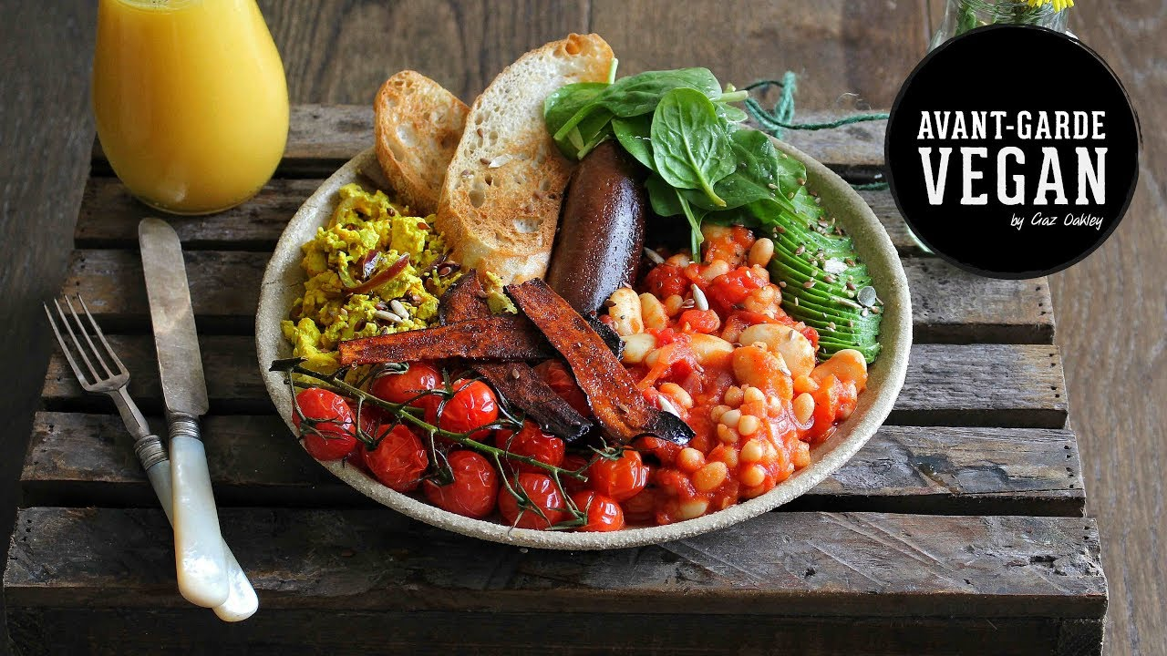 ULTIMATE VEGAN BREAKFAST | @avantgardevegan by Gaz Oakley | Amazing ...