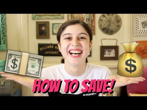 How To Save Money!!! 💸💸💸