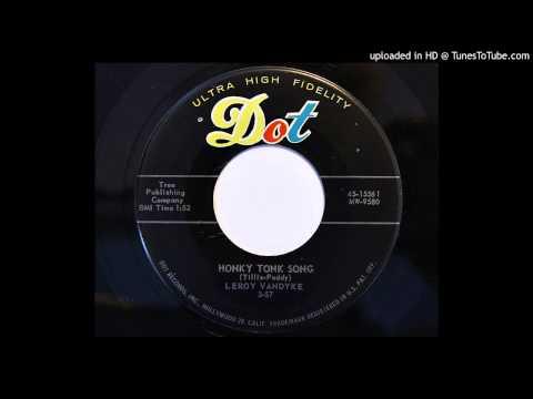 Leroy Van Dyke - Honky Tonk Song (Dot 15561) [1957 rockabilly]