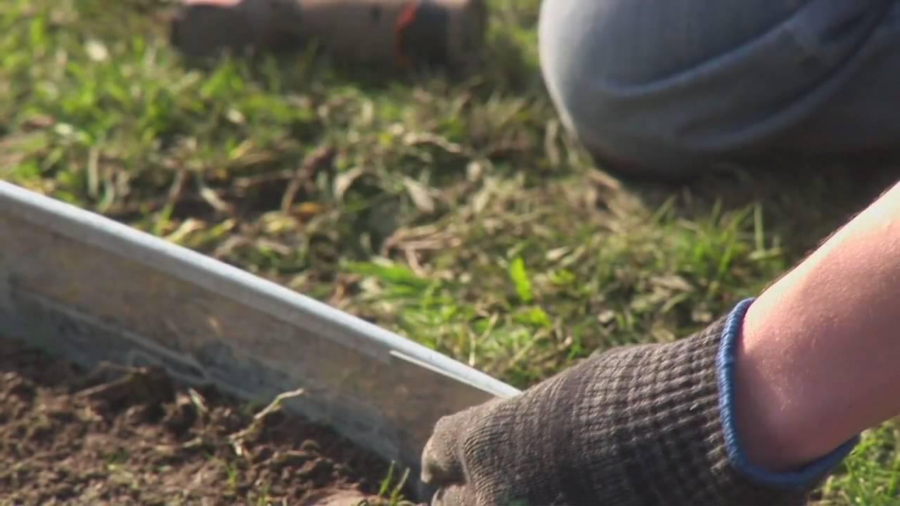 Garden Borders Made Easy! FormBoss Metal Garden Edging Puts You In
