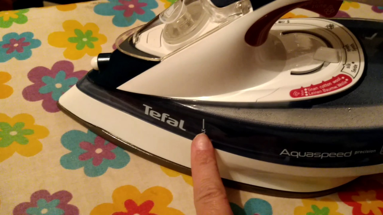 Tefal Aquaspeed precision - YouTube fce5422d7d2