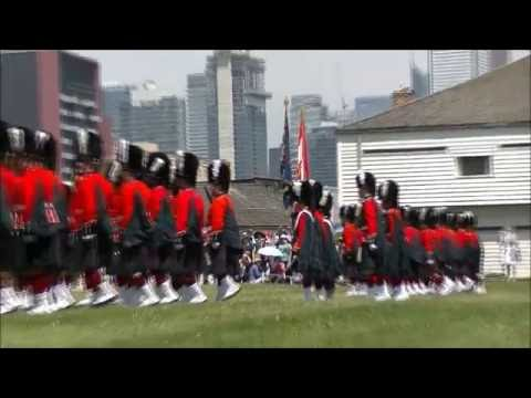 Fort York 48th Highlanders 125th Tattoo 2016 Part 2 of 5