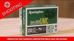 Remington UMC Handgun Ammunition Mega Pack 250 Rounds