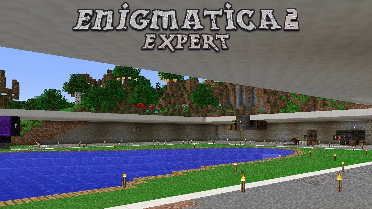 Enigmatica 2 Expert - THE BASE [E09] (Modded Minecraft