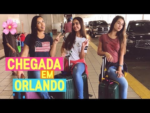 Chegada em Orlando - Vlog viagem á Disney 1º dia