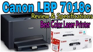 Canon Laserjet Printer LBP 7018c Review amp Specifications How to Replace Toner Cartridge