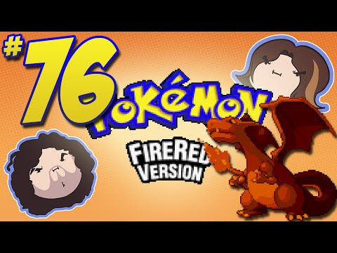Pokemon FireRed: Great or Ultra? - PART 76 - Game Grumps