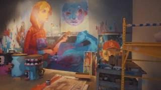 Andrew Hem Mural For