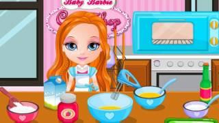 Супер кексы от Барби Игра для девочек   Best Baby Games For Girls