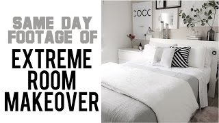 2017 SAME DAY Footage of EXTREME MAKEOVER Scandinavian Style