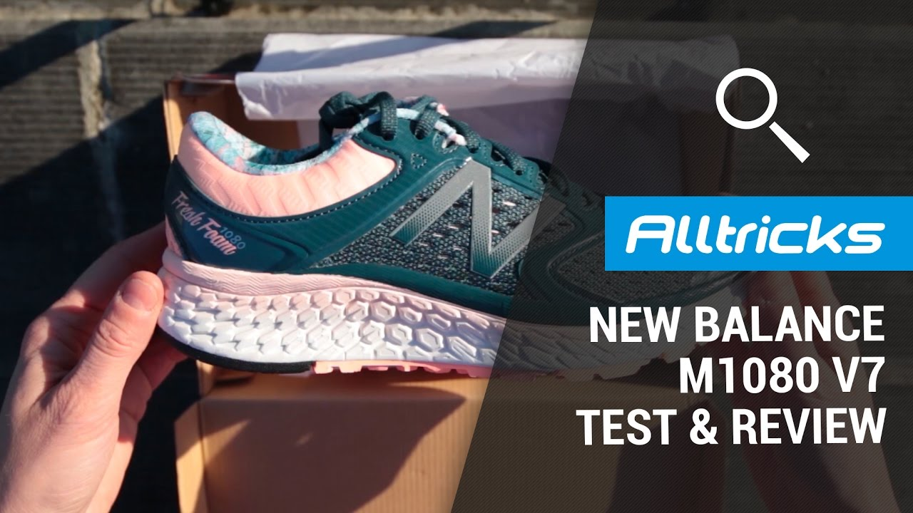 New Balance 1080 V7 : Test & Review