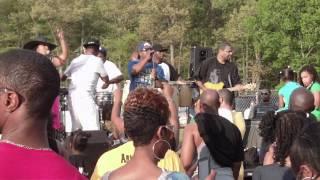 Da Mixx Band U.I.K.L Performance @ Clinton Sports Park 4/15/2012 Part. 1