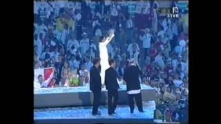 Sakis Rouvas Athens 2004-closing ceremony