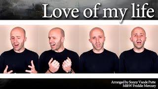 Download Love of my life (Queen) - A cappella multi track (SSAA / SATB / TTBB)