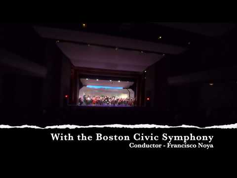 The Wexford Carol - Tara Novak & Ciaran Nagle - with the Boston Civic Symphony