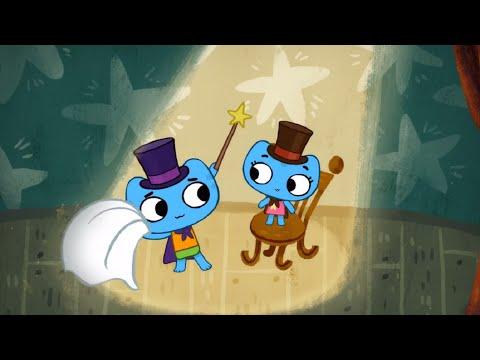 Мультфильмы для Малышей - Котики, вперед! - Фокус - Покус (Серия 9)