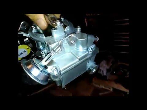 Replacing and Adjusting A Single Barrel Carburetor