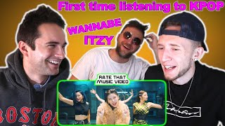 Americans first time listening to KPOP [REACTION] ITZY - \