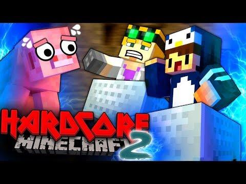 Minecraft Hardcore 2 - VILLAGE RAILWAY #15