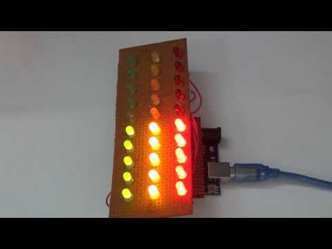 LED Light Chaser / Sequencer (Included: Code for Custom Sequence for Arduino)