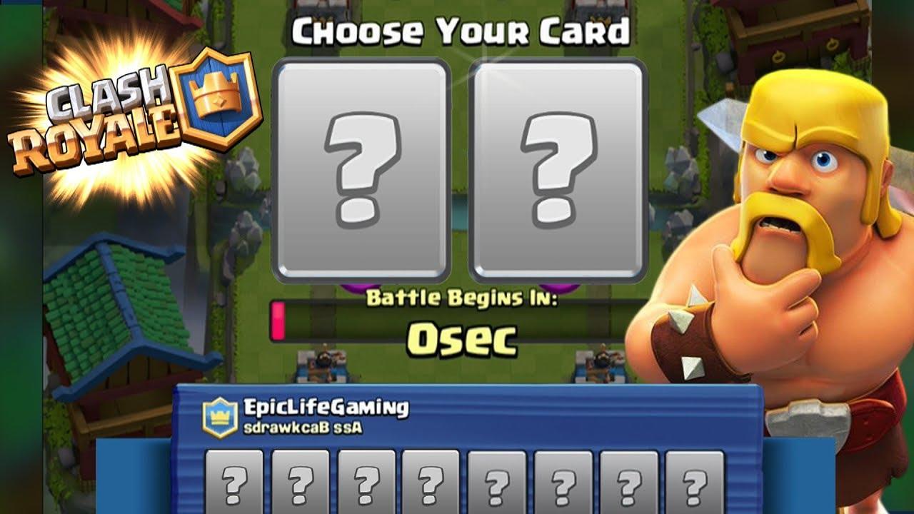 """RANDOM DECK!"" 2v2 Draft Challenge! Clash Royale"