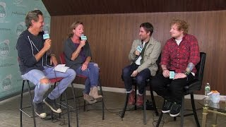 Ed Sheeran & Jamie Lawson Talk Touring & 'The Song That Makes People Cry'