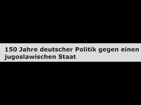 150 Jahre deutscher Politik gegen einen jugoslawischen Staat (Radio Corax)