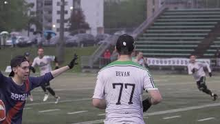AUDL 2019: Ottawa Outlaws at Montreal Royal — Game Highlights