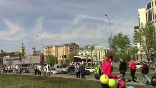 Военная авиация над Москвой 9 мая 2015