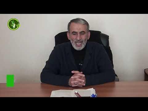Hacı Əhlimanın Cümə moizəsi (13.03.2020)