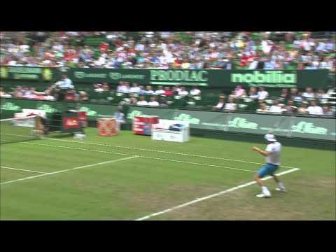 Gerry Weber Open 2014 Achtelfinale: Joao Sousa vs Roger Federer