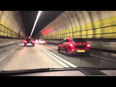 Dartford Tunnel with lots of VXR