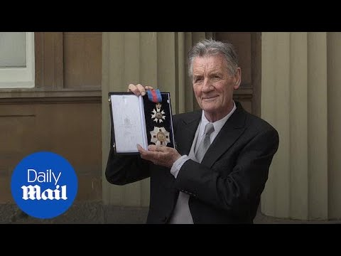 Sir Michael Palin Collects His Knighthood